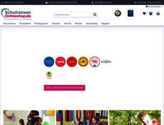rucksack-onlineshop.com screenshot