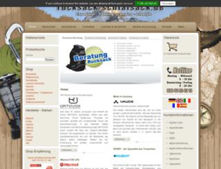 rucksack-schlafsack.de screenshot