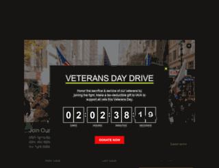 rucksack.iava.org screenshot