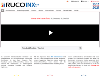 ruco-inks.com screenshot
