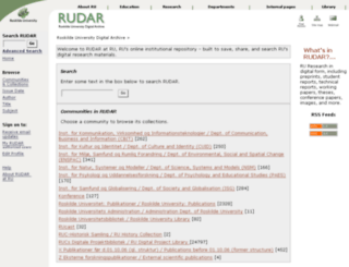 rudar.ruc.dk screenshot