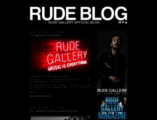 rude-blog.com screenshot