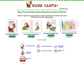 rudesanta.com screenshot