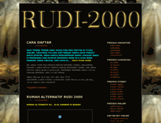 rudi2000.wordpress.com screenshot
