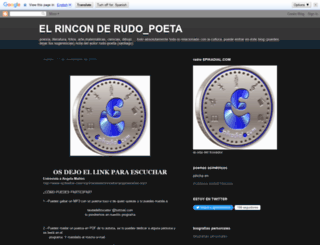 rudo-poeta.blogspot.com screenshot