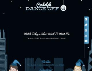 rudolphdanceoff.com screenshot