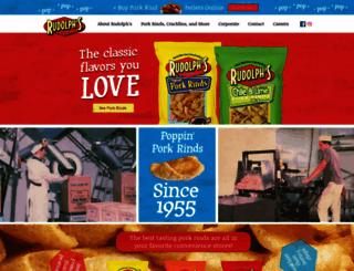 rudolphfoods.com screenshot