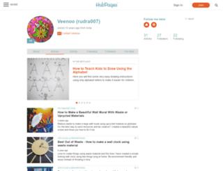 rudra007.hubpages.com screenshot