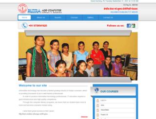 rudraaddcomputers.com screenshot