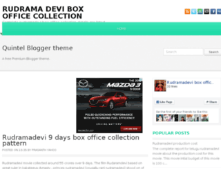 rudramadeviboxofficecollection.co.in screenshot