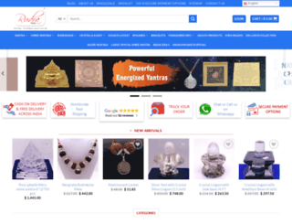 rudrapuja.com screenshot