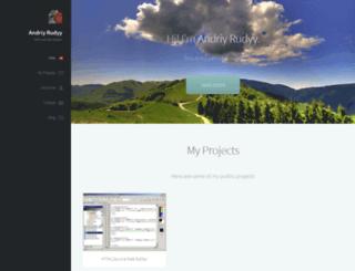 rudyysoft.com screenshot