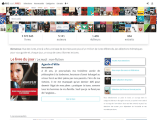 rue-des-livres.com screenshot