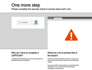 rue21.com screenshot