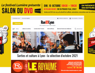 rue89lyon.com screenshot