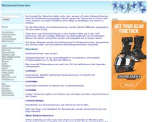 rueckenschmerzen.gesund.org screenshot