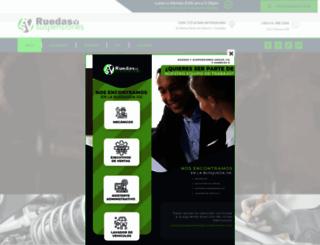 ruedasysuspensiones.com screenshot