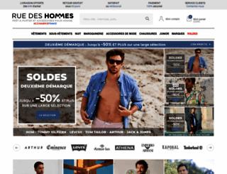 ruedeshommes.com screenshot