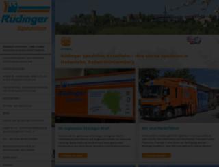 ruedinger.de screenshot