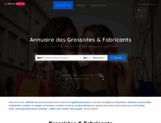 ruedusentier.fr screenshot