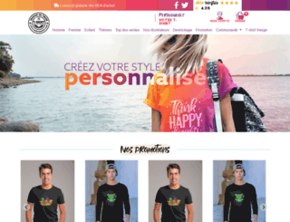 rueduteeshirt.com screenshot