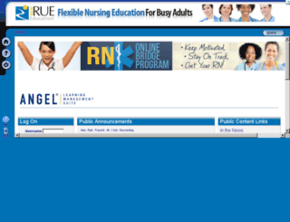 rueed.angellearning.com screenshot