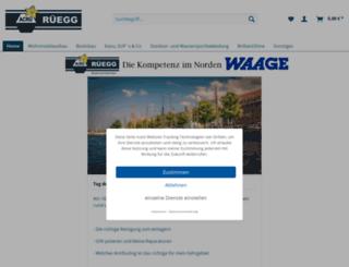 ruegg-shop.de screenshot