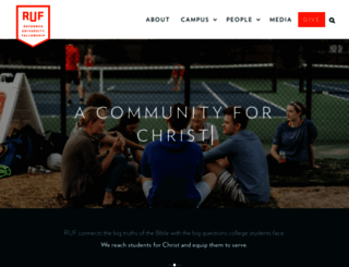 ruf.org screenshot