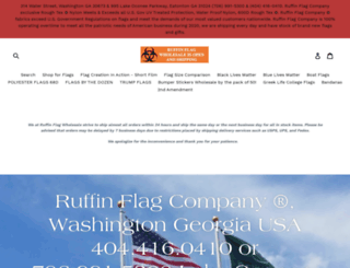 ruffinflagcompany.net screenshot