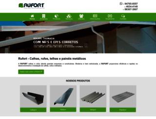 rufort.com.br screenshot