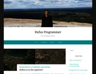 rufusprogrammer.com screenshot