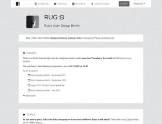 rug-b.de screenshot
