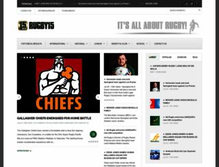 rugby15.co.za screenshot