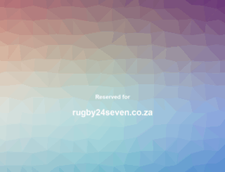 rugby24seven.co.za screenshot
