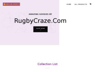 rugbycraze.com screenshot