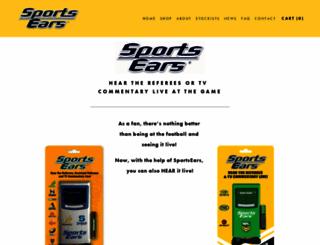 rugbyears.com.au screenshot