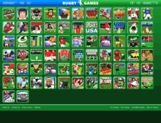 rugbygames.net screenshot