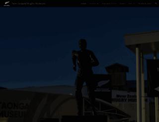 rugbymuseum.co.nz screenshot