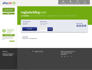 rugbytackling.com screenshot