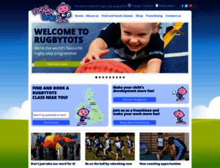 rugbytots.co.uk screenshot