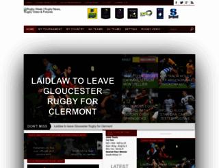 rugbyweek.com screenshot