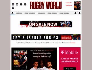 rugbyworld.com screenshot