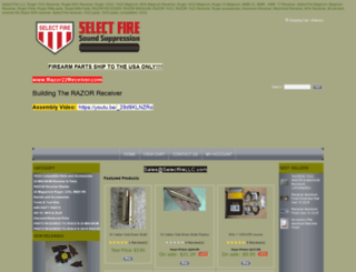 ruger1022receiver.3dcartstores.com screenshot