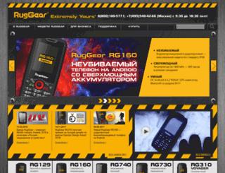 ruggear.ru screenshot