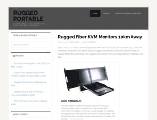 rugged-portable.com screenshot