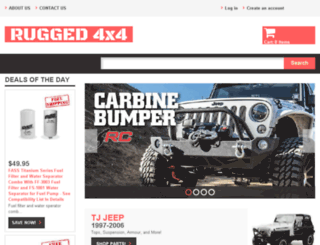 rugged4x4.com screenshot