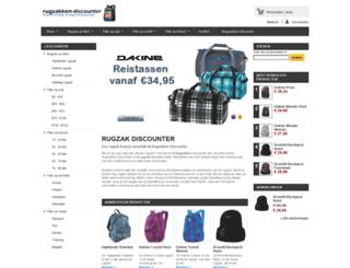 rugzakken-discounter.nl screenshot