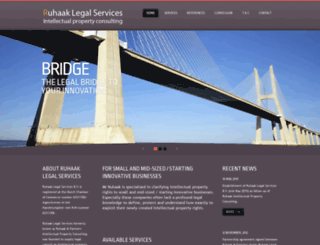 ruhaakandpartners.com screenshot