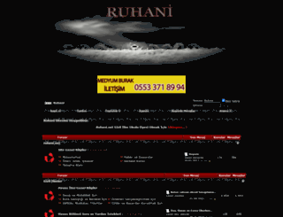 ruhani.net screenshot