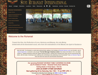 ruhaniat.org screenshot